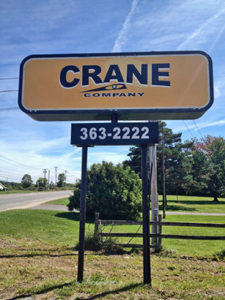 Crane Company Sign Sm